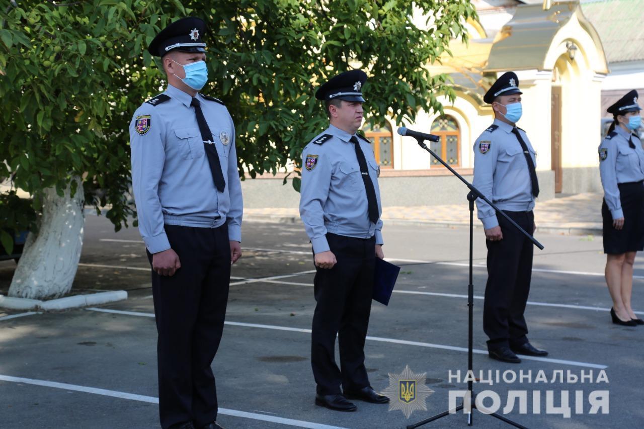 У Вінниці 18 новобранців поповнили лави поліції (Фото)