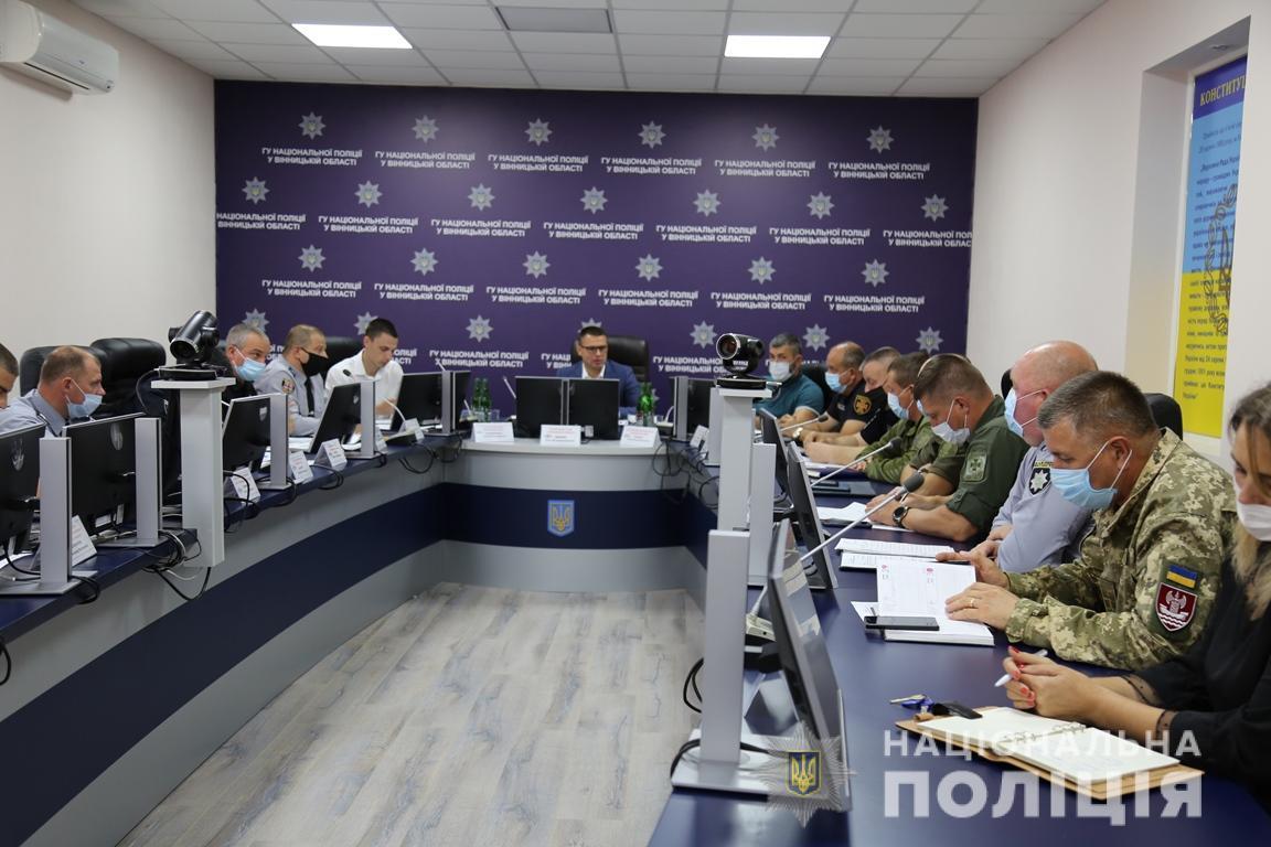 3 500 поліцейських забезпечуватимуть громадський порядок під час місцевих виборів на Вінниччині
