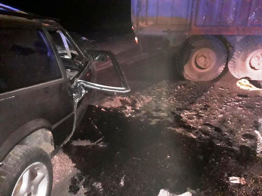 Біля Вороновиці водій на Honda влетів у трактор. Загинула 24-річна дівчина (Фото)