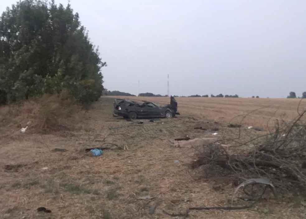 У Шаргородському районі автомобіль злетів в кювет та перекинувся. Водій загинув (Фото)