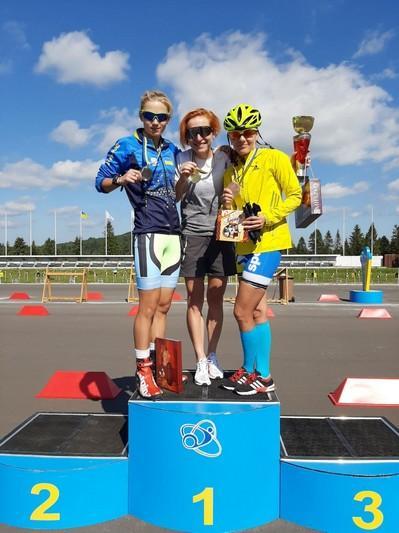 Спортсмени з Вінниці здобули нагороди на Всеукраїнських змаганнях з гонок на лижоролерах (Фото)