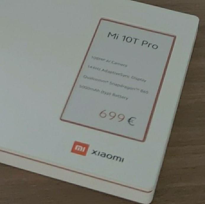 Xiaomi Mi 10T Pro стане першим смартфоном з підтримкою AdaptiveSync