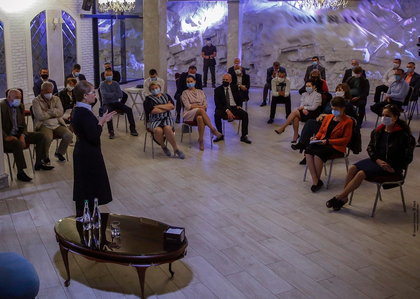 До Вінниці приїздила Юлія Тимошенко (Фото)