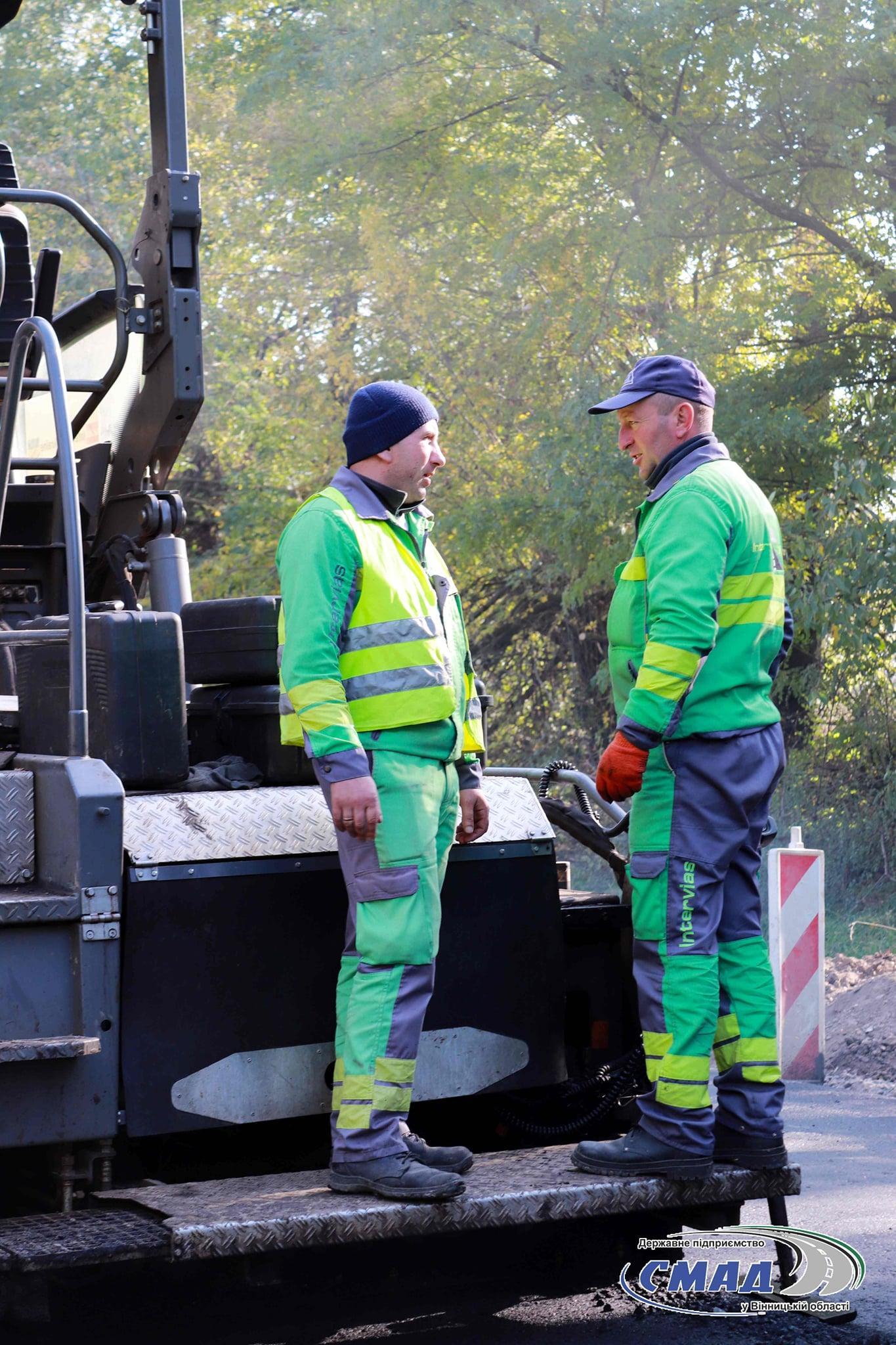 Тривають роботи з ремонту дороги