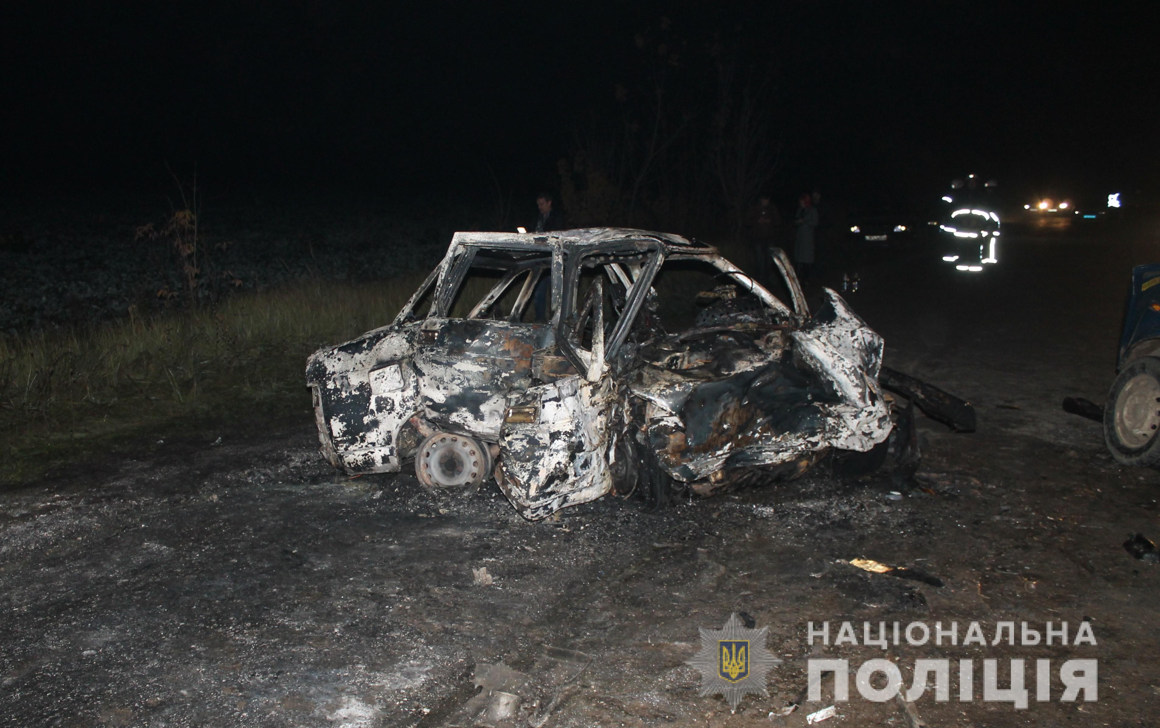 Біля Ладижина сталася смертельна ДТП. Загинуло двоє людей (Фото)
