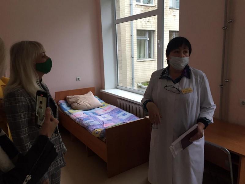 На Вінниччині тубдиспансер почав приймати хворих з COVID-19. Для них виділили 60 ліжок (Фото)