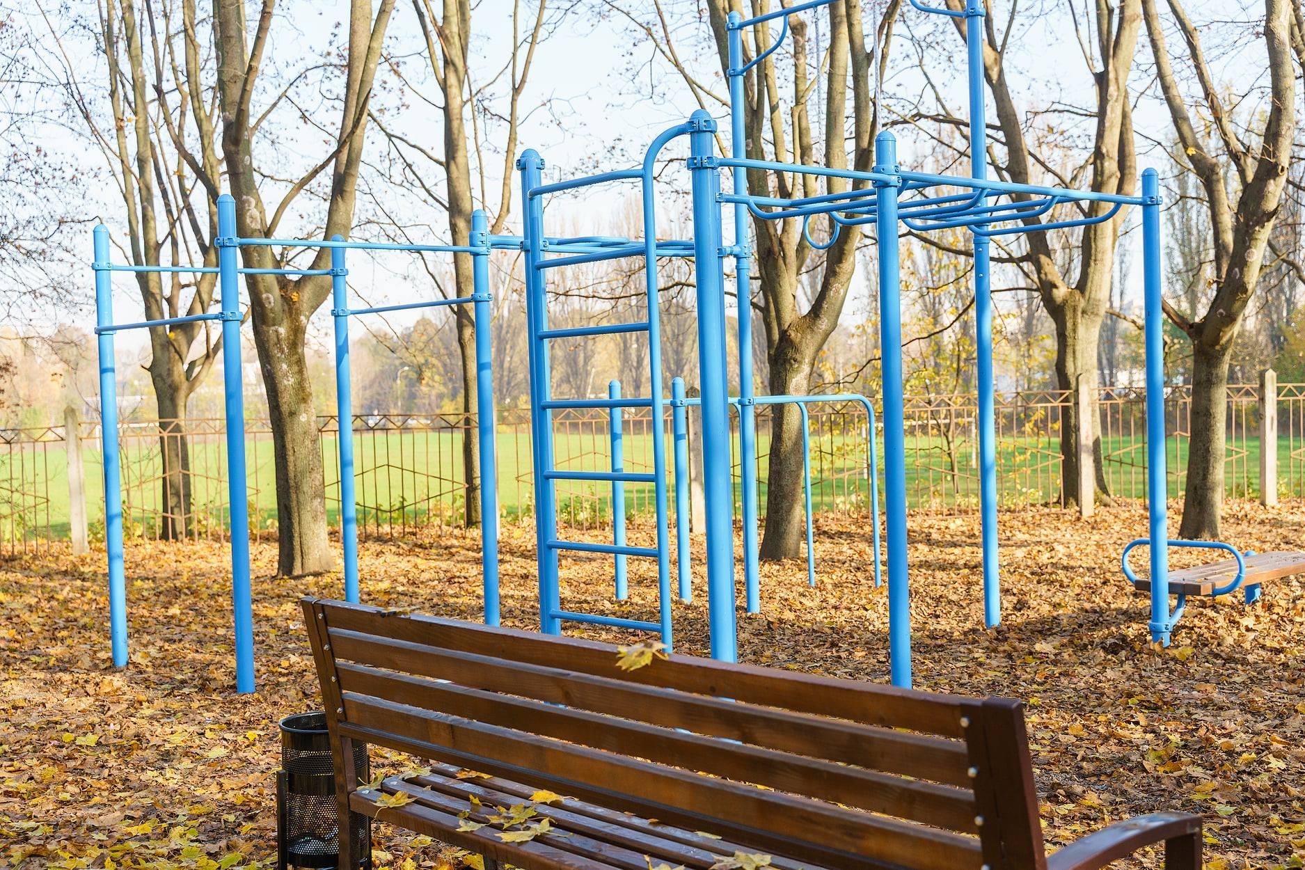 На Тяжилові оновили парк