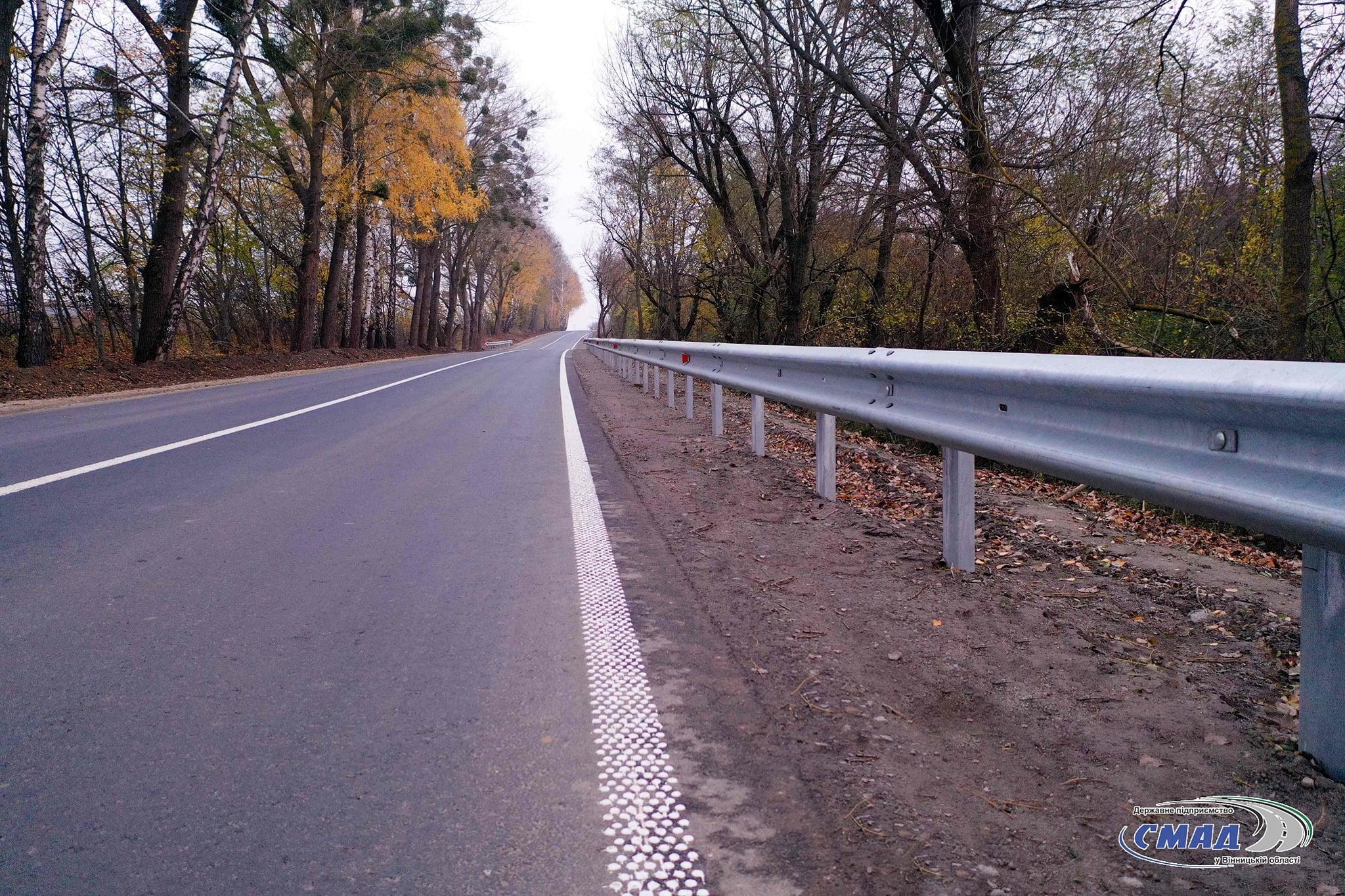 """На Вінниччині відремонтували відрізок дороги """"Браїлів-Гнівань"""""""