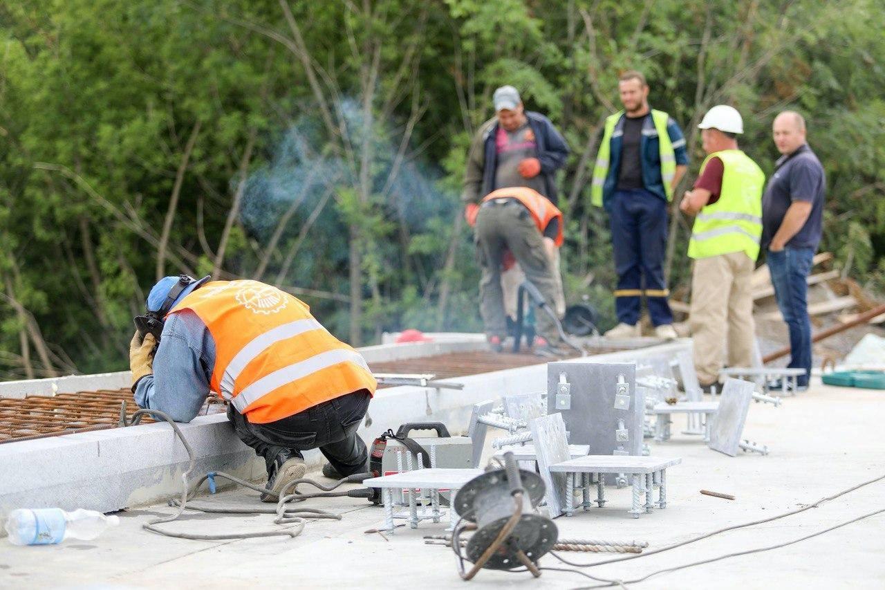 На об'їзній біля Вінниці відремонтували міст
