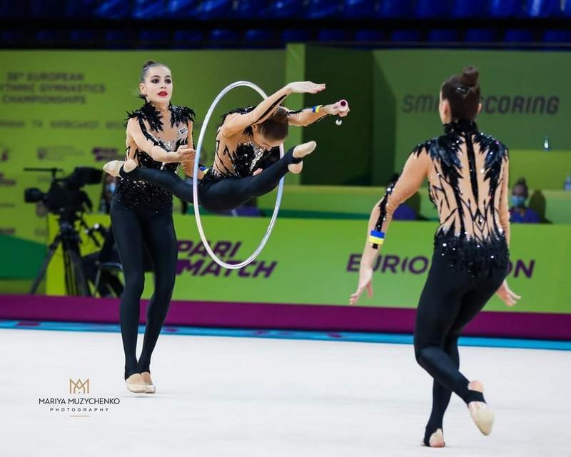 Спортстменка з Вінниці допомогла українській збірній вибороти нагороди на Чемпіонаті Європи з гімнастики (Фото)