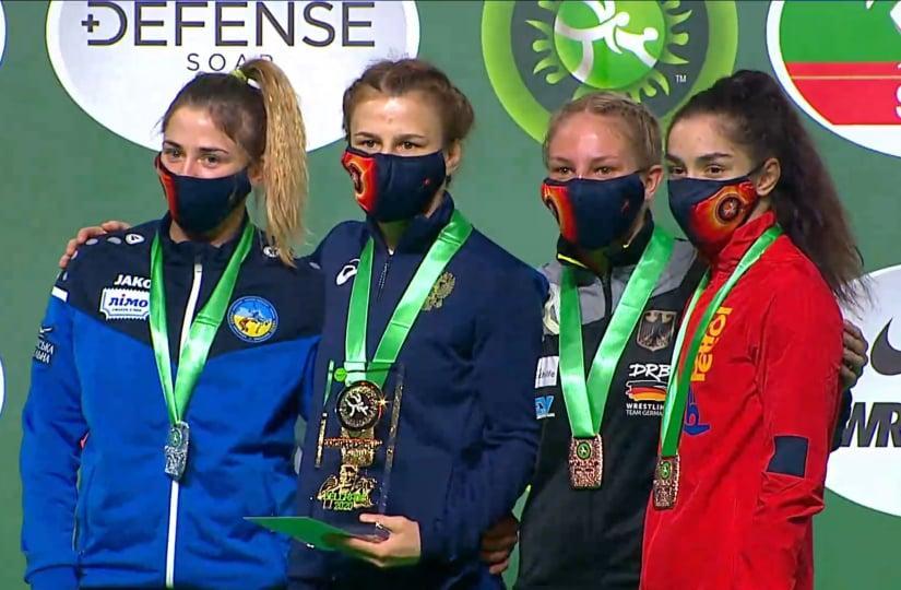 Спортсменка з Вінниччини виборола срібло на Кубку світу з боротьби (Фото)