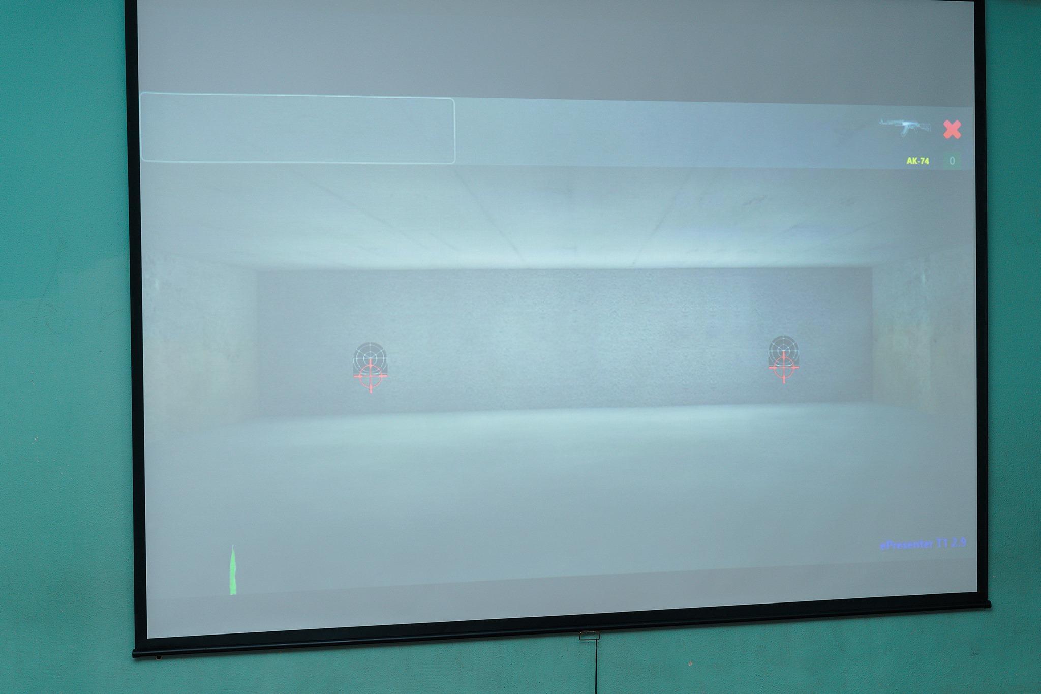 У вінницькій школі №33 з'явився інтерактивний лазерний тир для навчальної стрільби