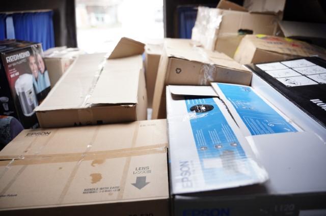 З Вінниці відправили 4 тонни подарунків для бійців на Схід (Фото)