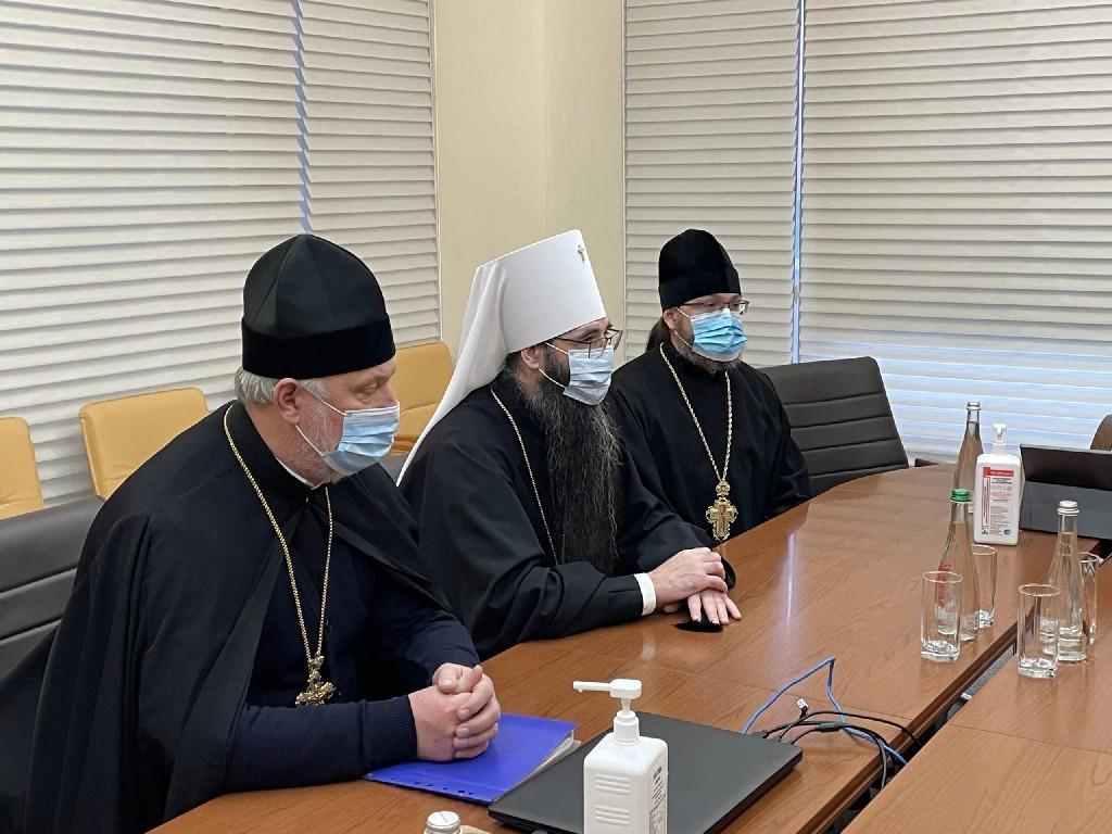 Моргунов зустрівся з митрополитом УПЦ МП Варсонофієм (Фото)
