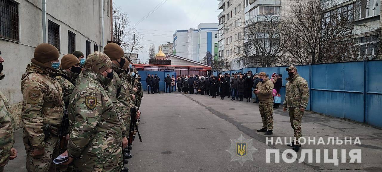 Зведений загін поліцейських з Вінниччини вирушив на Донбас