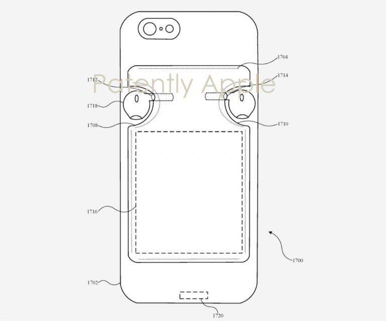 Заряжать AirPods от iPhone: Apple запатентовала технологию