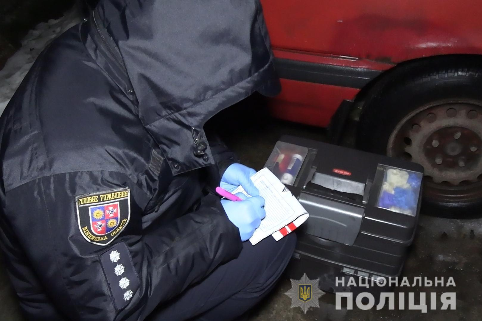 У Вінниці зловмисники пограбували 24-річного хлопця та вимагали принести ще 20 тисяч гривень (Фото)
