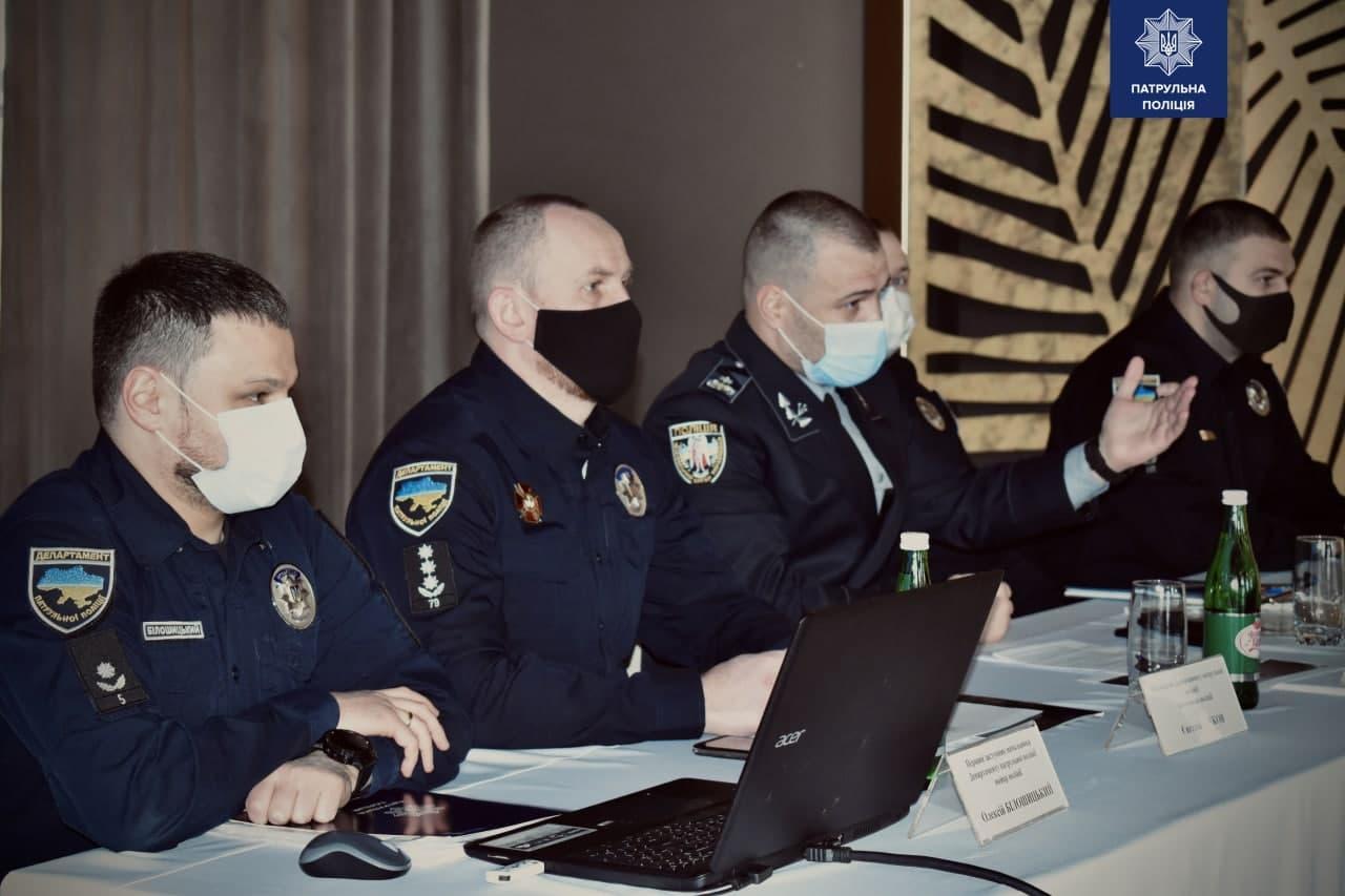 Вінницьких патрульних визнали кращими в Україні за підсумками роботи у 2020 році (Фото)