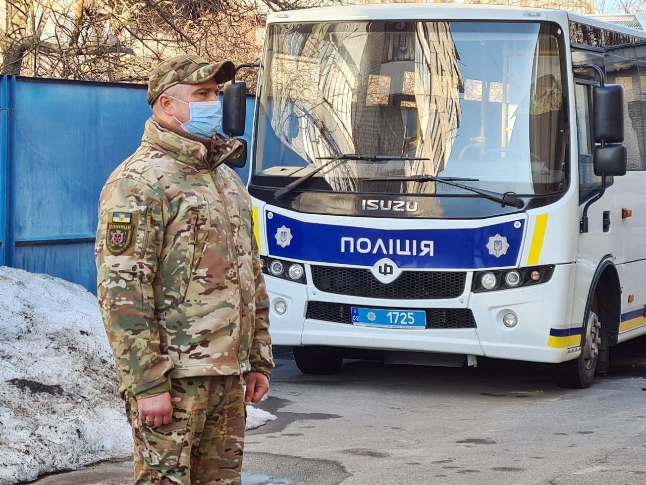 Поліцейські Вінниччини вчергове вирушили в зону ООС (Фото+Відео)
