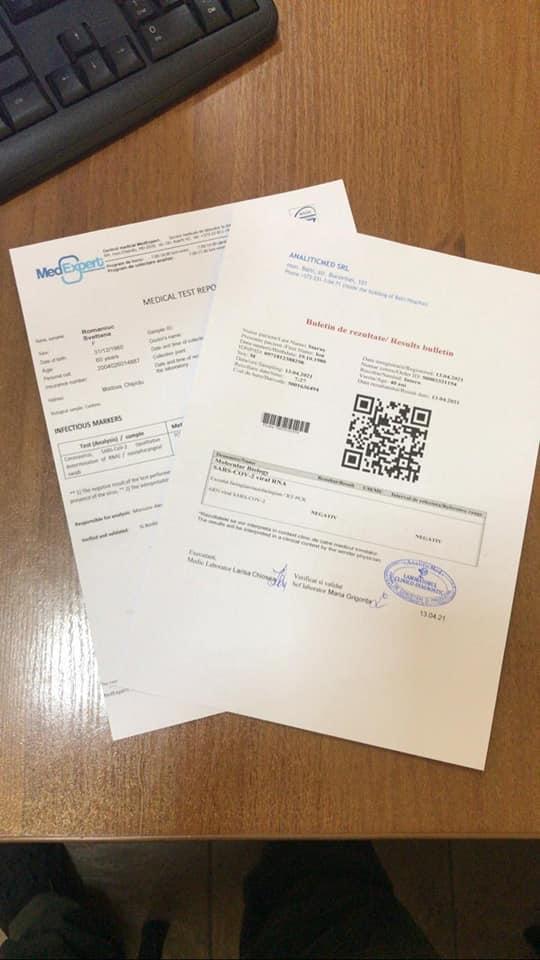 На Вінниччині затримали трьох іноземців, які намагалися перетнути кордон з фальшивими результатами ПЛР-тестів (Фото)