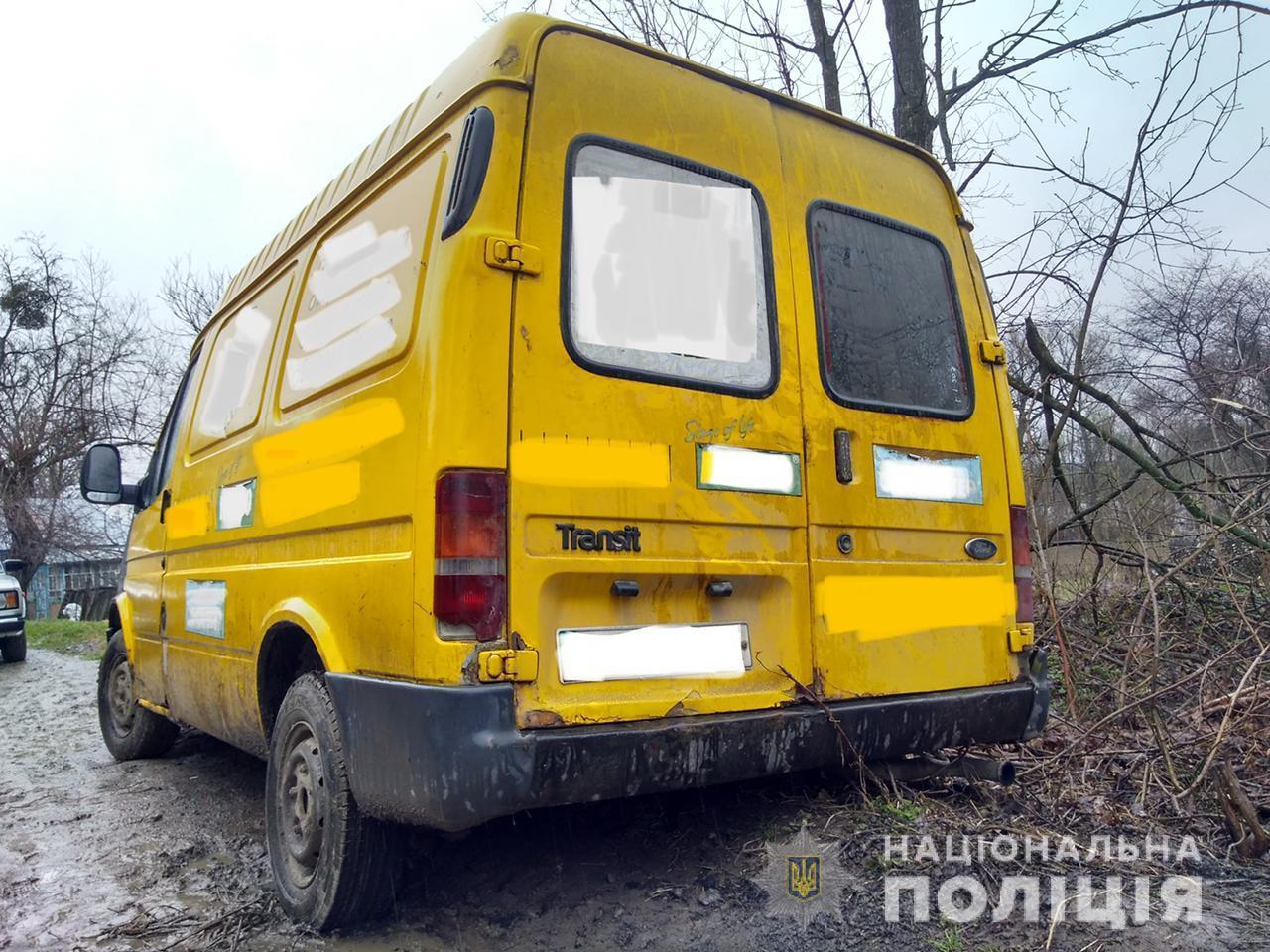 У Теплицькій громаді чоловік викрав мікроавтобус та потрапив в аварію (Фото)