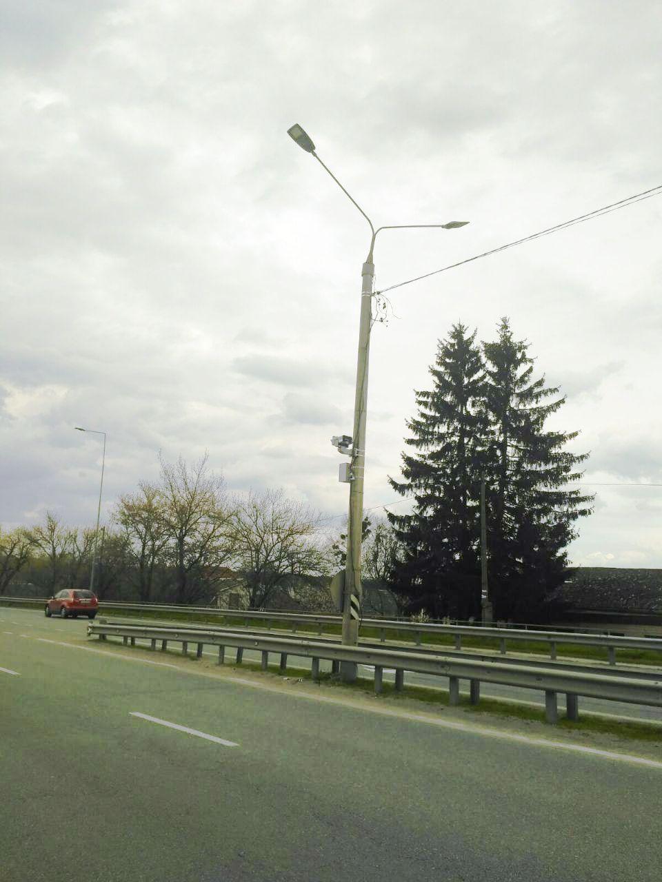 У Вінницькій області почали встановлювати камери автоматичної фіксації швидкості (Фото)