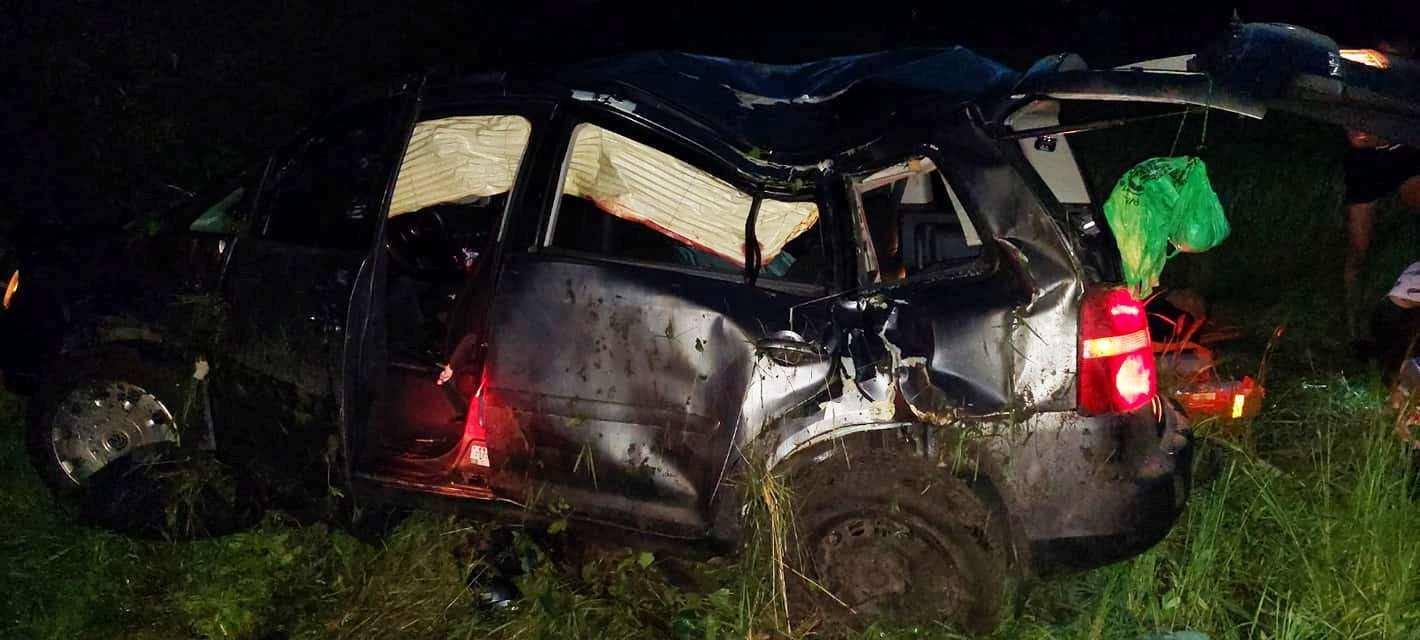 У Вінницькій області п'яний патрульний спричинив смертельну ДТП (Фото+Відео)