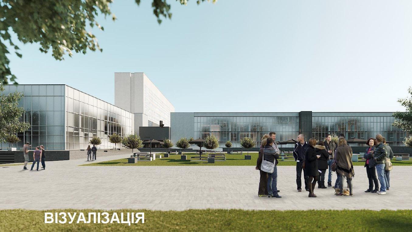 У Вінниці приступили до реконструкції заводу «Кристал». Заклад претворять на інноваційний муніципальний центр (Фото)