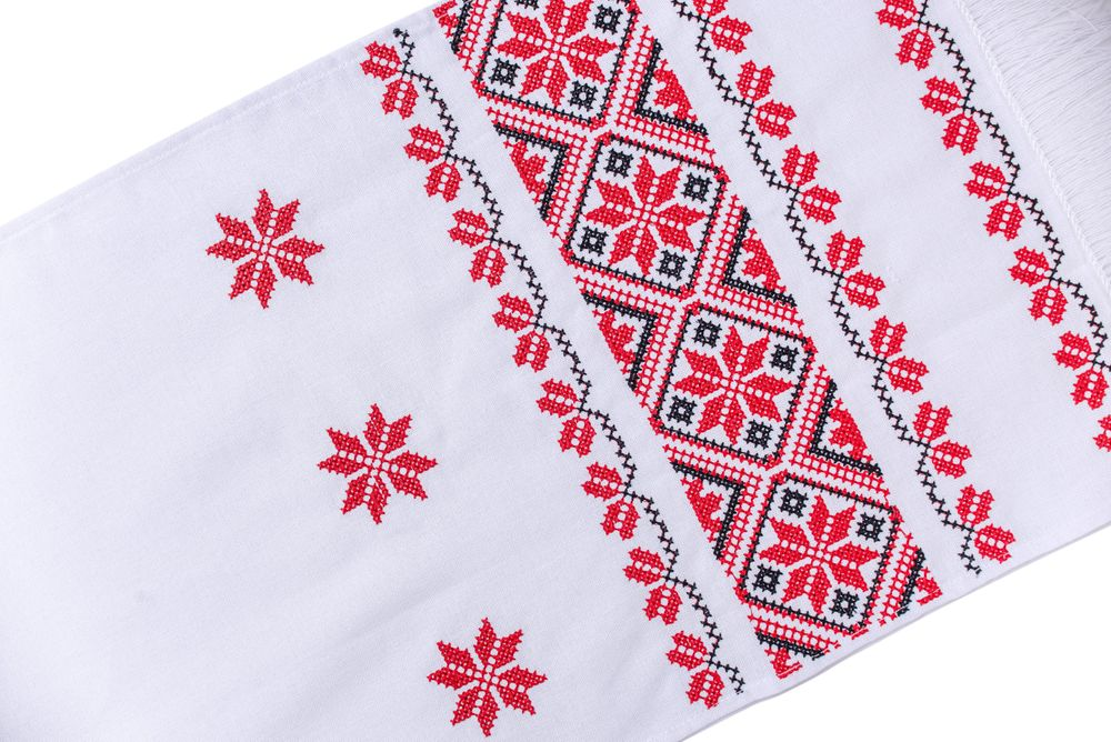 Вишитий український рушник
