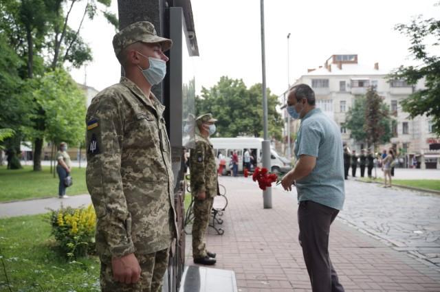 У Вінниці вшанували жертв німецько-радянської війни (Фото)