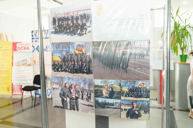 У Вінниці відкрили виставку світлин українського військовослужбовця Віталія Марківа (Фото)