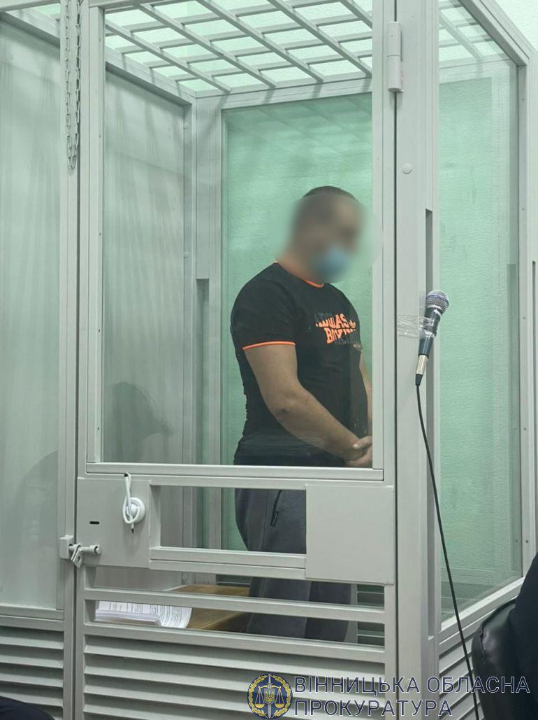 Поліцейського, який п'яним спричинив смертельну ДТП на Вінниччині, взяли під варту. Застава - 181 тисяч гривень (Фото)