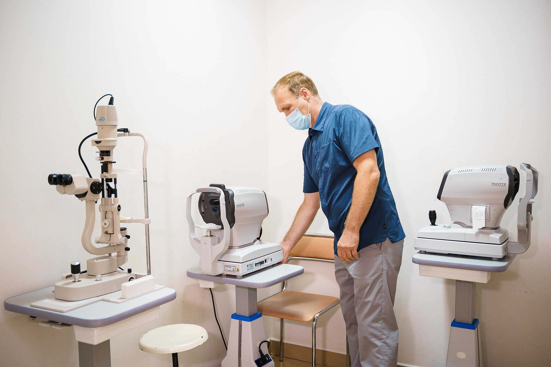У Вінницькій міській лікарні №1 оновили офтальмологічний кабінет (Фото)