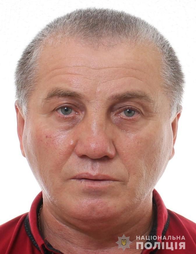 На Вінниччині розшукують 55-річного чоловіка (Фото)