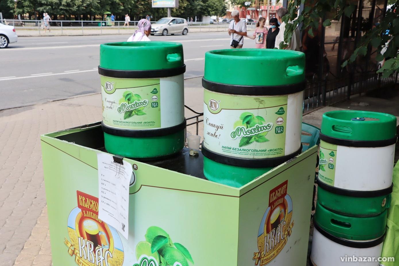Як виготовляють вуличний квас та мохіто, що продають у Вінниці? Репортаж із заводу (Фото)