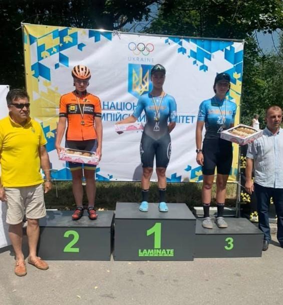 Спортсмени з Вінниччини вибороли призові місця на чемпіонаті України із велоспорту (Фото)