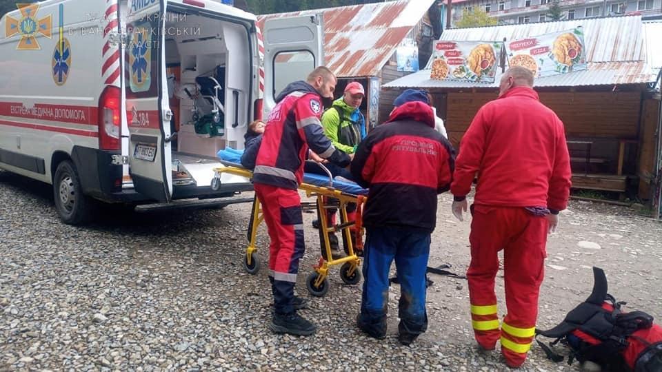На Говерлі травмувалася туристка з Жмеринки (Фото)