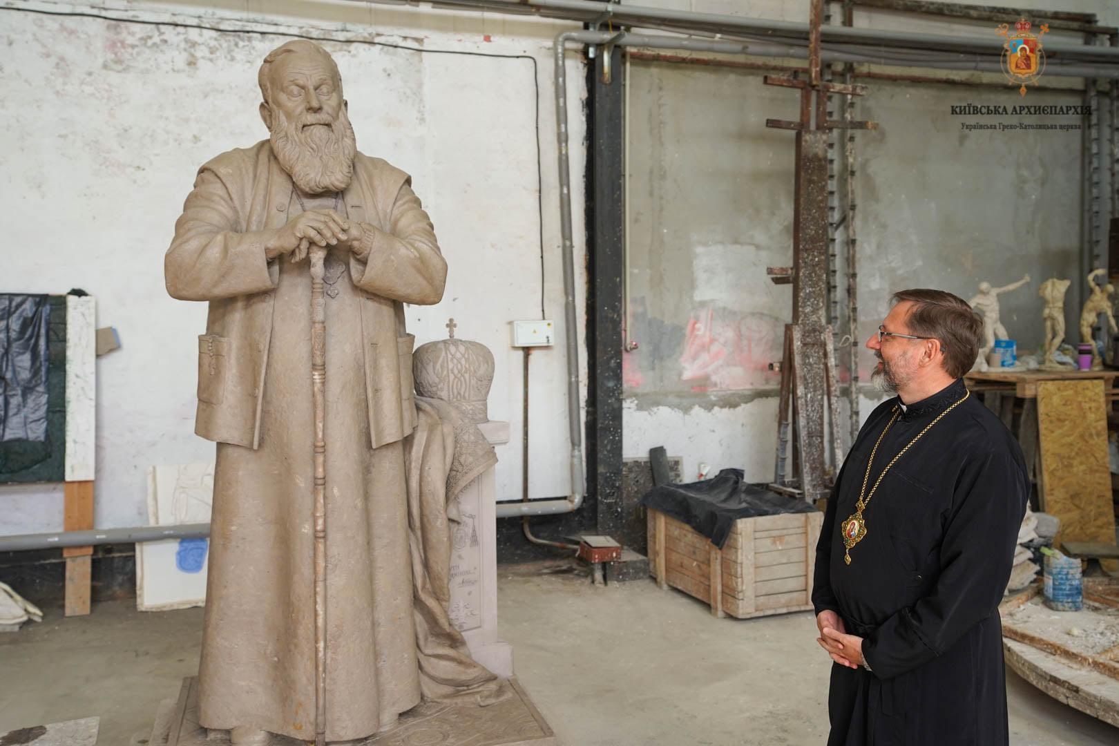 На відкриття пам'ятнику Любомиру Гузару до Вінниці приїде глава Української Греко-Католицької Церкви
