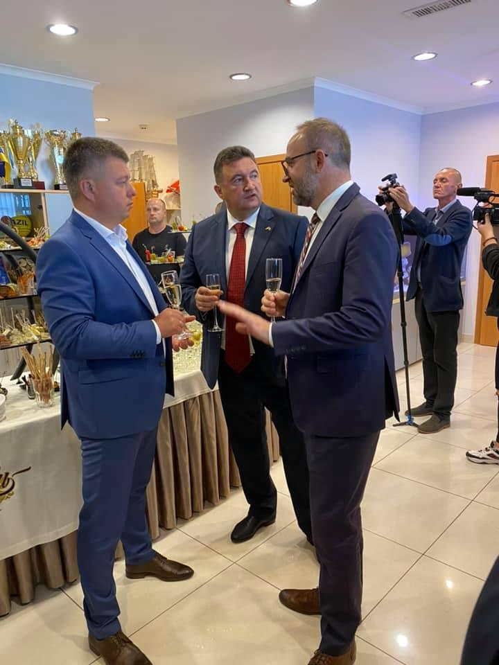 У Вінниці відкрили почесне Консульство Латвійської Республіки (Фото)