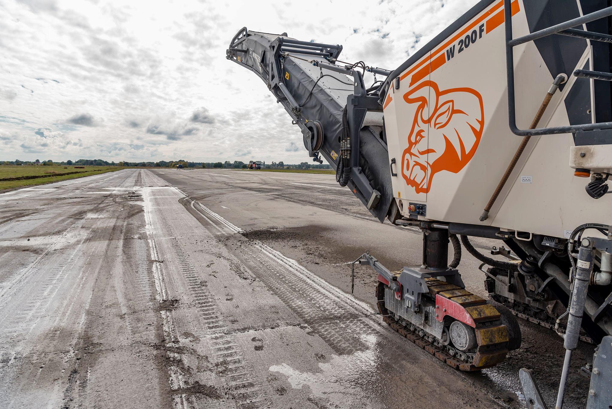 У аеропорту «Вінниця» стартували роботи з реконструкції (Фото+Відео)