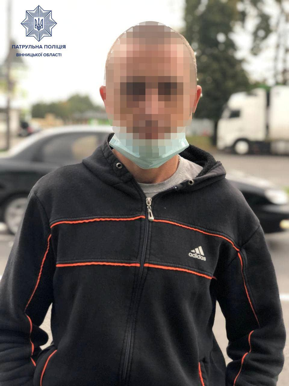 У Вінниці затримали водія, який керував автобусом напідпитку