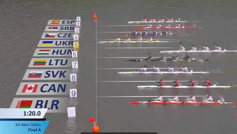 Вінничанин виборов «золото» на Чемпіонаті світу з веслування на байдарках і каное