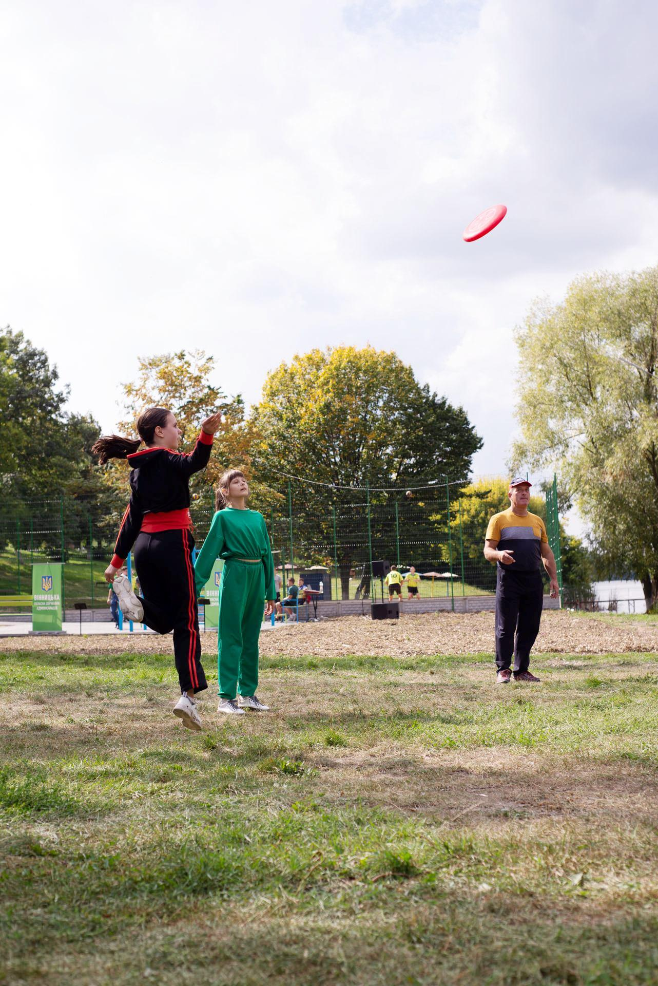 На Вінниччині збудують 16 активних парків. Перший відкрили в Іллінцях (Фото)