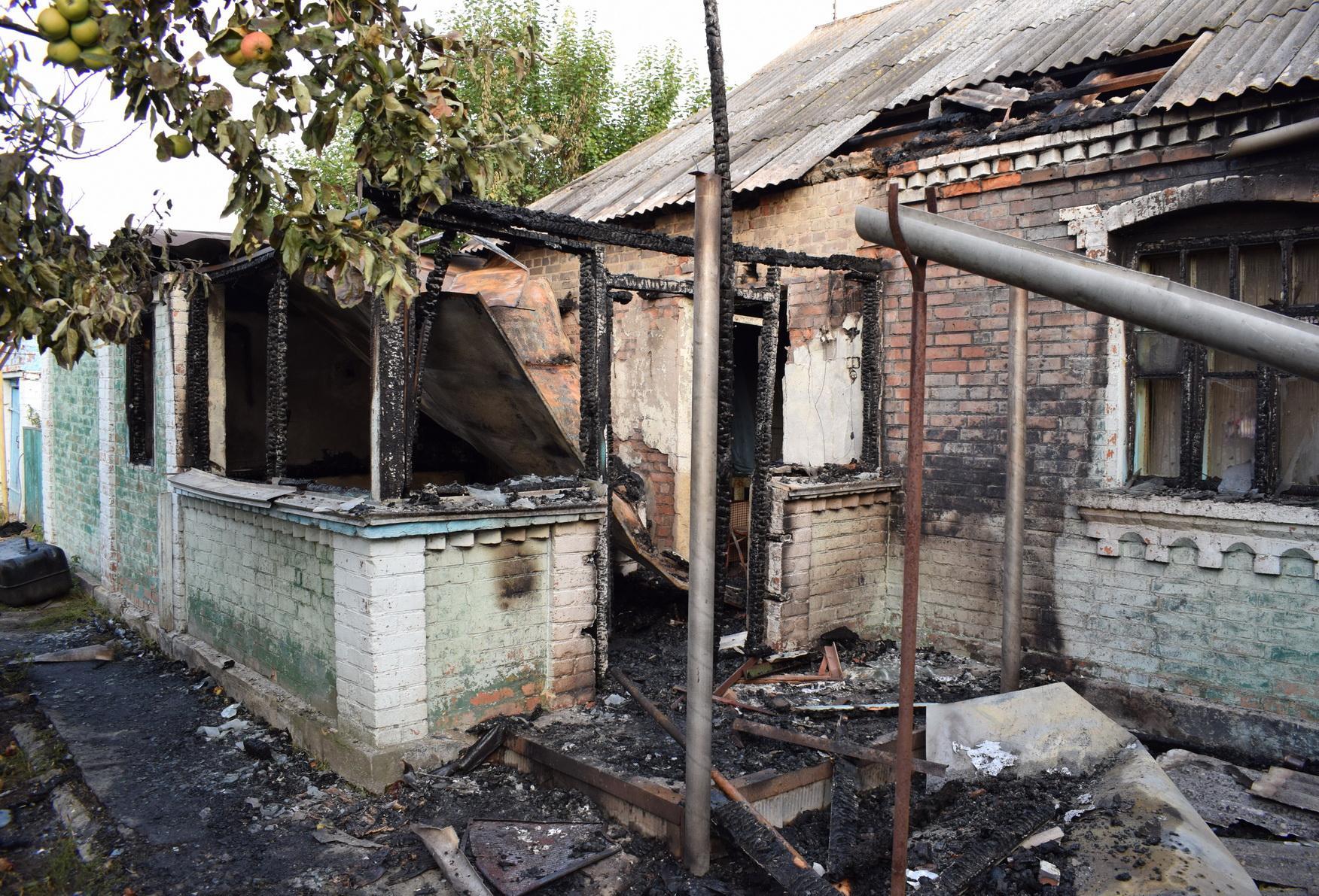 На Вінниччині 25-річний юнак спалив живцем родича (Фото)
