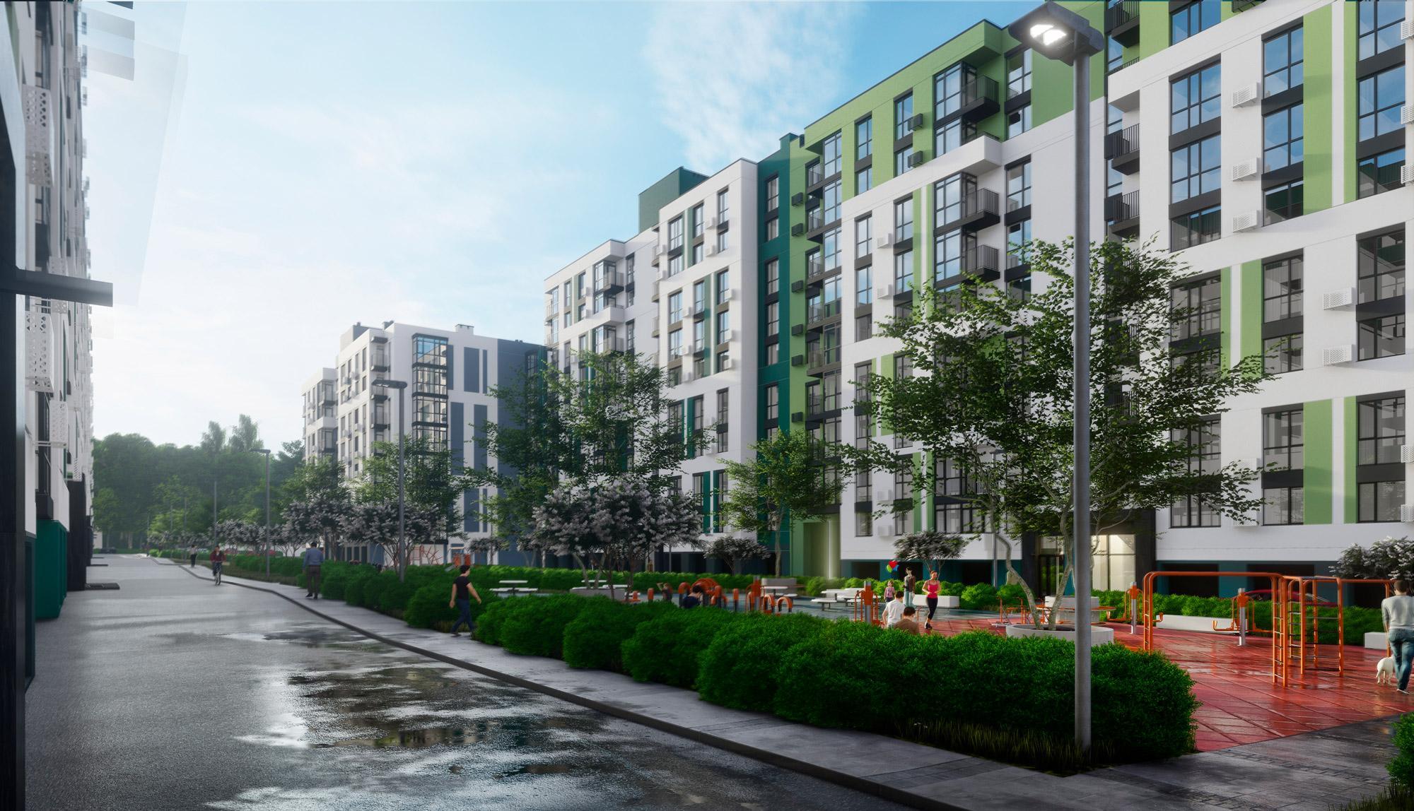 Впритул до Лісопарку збудують новий житловий комплекс (Фото)
