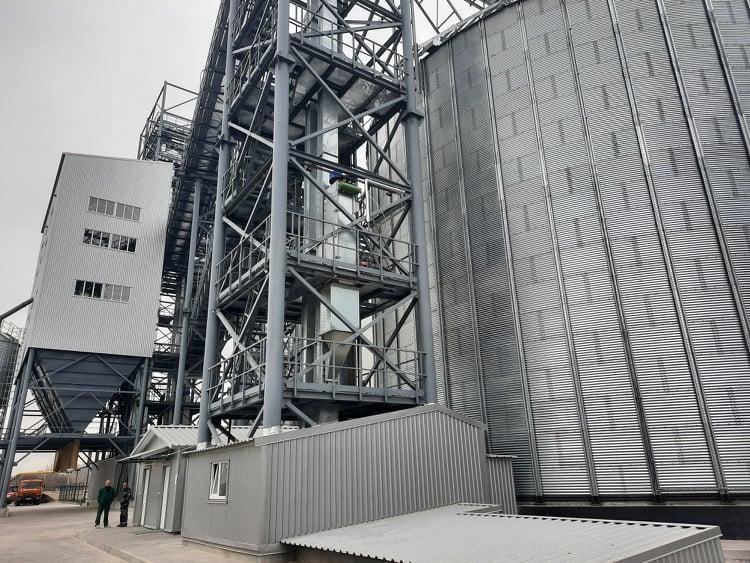 На Вінниччині відкрили новий елеватор потужністю 40 тисячтонн (Фото)