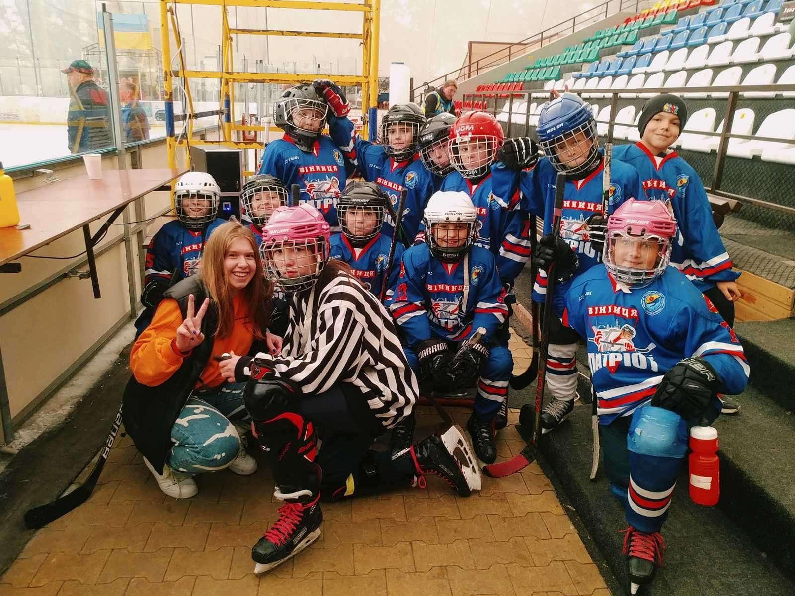У Вінниці завершився Всеукраїнський дитячий кубок з хокею. Місцева команда взяла «бронзу» (Фото)
