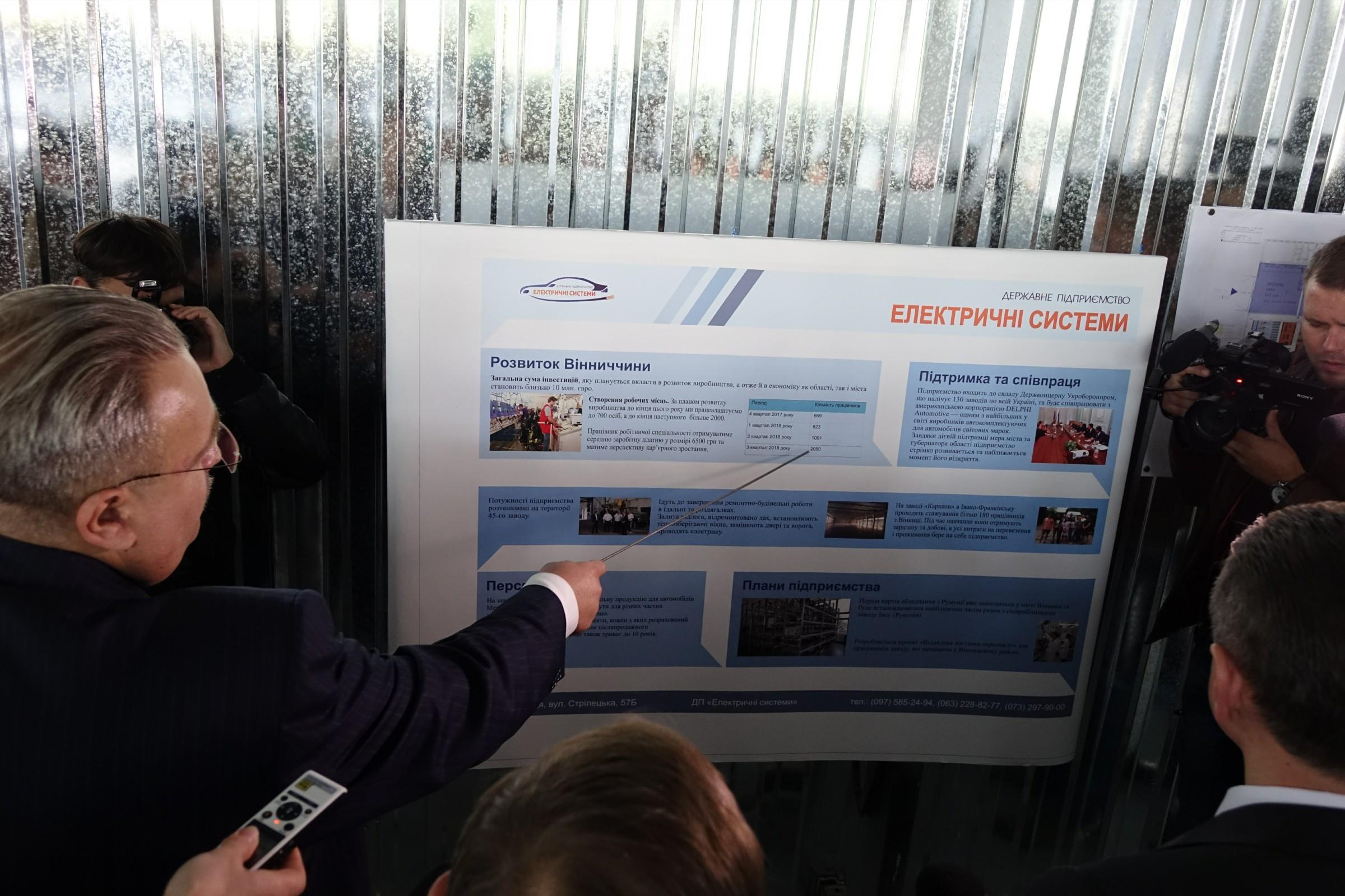 У Вінниці готуються запустити новий завод партнер Delphi Corporation. Шукають робітників (Фото+Відео)